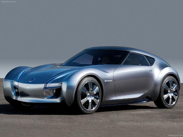 Электрический спорткар от Nissan!
