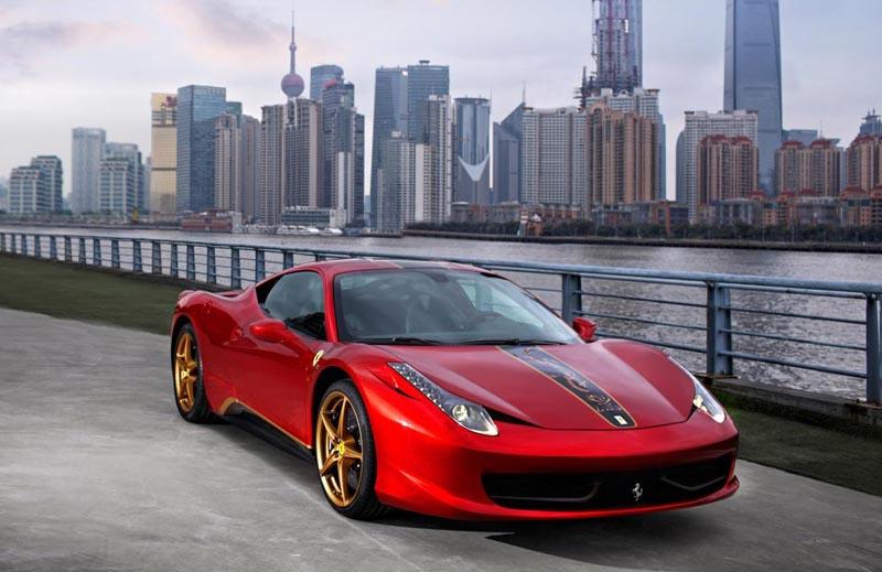 «Специальный» Ferrari на выставке в Тулузе