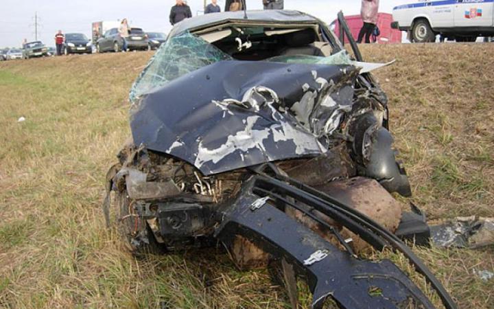 31 мая автоледи с тремя детьми попала в дтп под тулой.