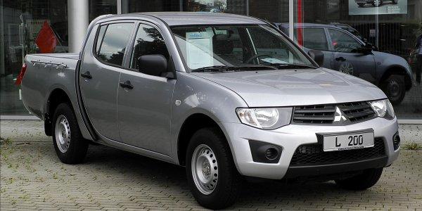Mitsubishi L200 занимает 45% продаж в сегменте пикапов в России