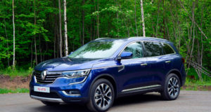 Новый кузов Renault Koleos 2018: комплектация, цена и фото