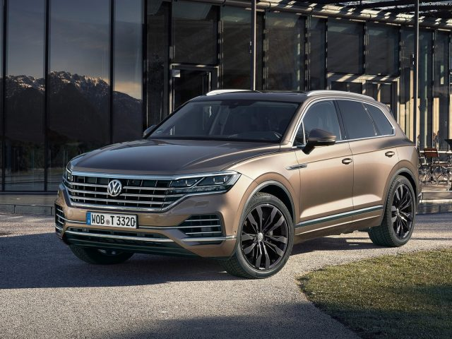 Новый кузов Volkswagen Touareg 2018 комплектации, цена и фото