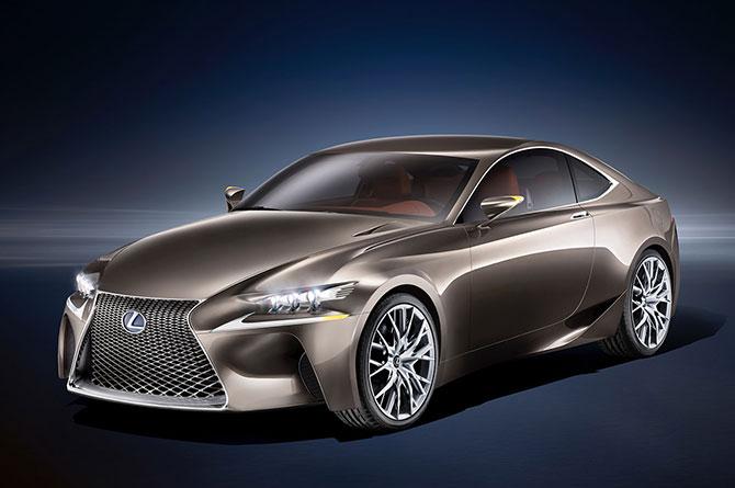 Ожидаемая новинка от Lexus!