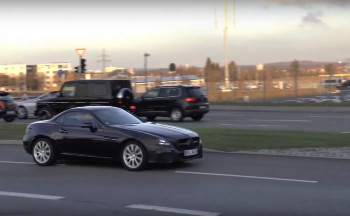 Родстер Mercedes SLC представят в январе