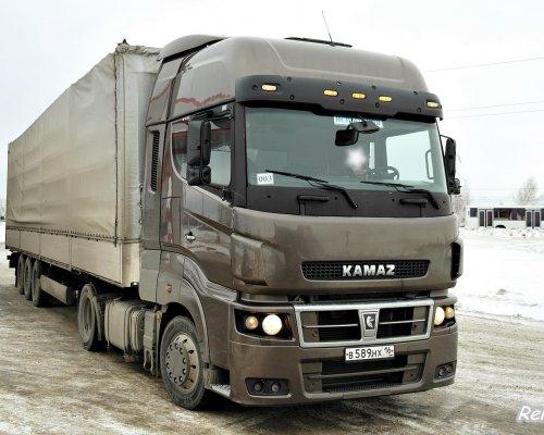 «КАМАЗ» опередил по продажам SCANIA и DAF