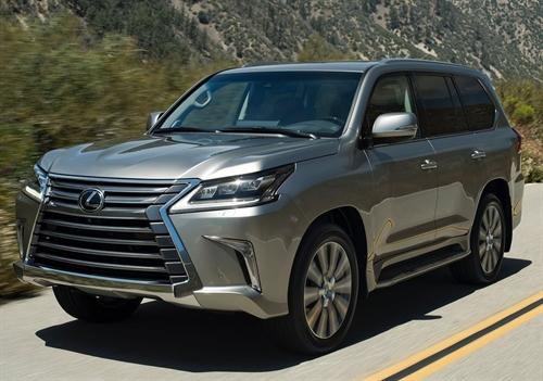 В России стартовали продажи нового внедорожника Lexus LX