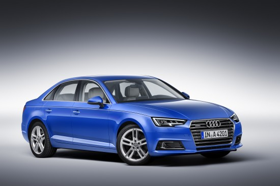 К 2016 встолице стартуют продажи Ауди A4 обновленного поколения