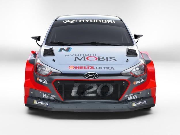 Компания Hyundai представила новый ралли-кар