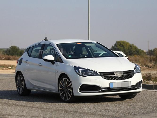 На тестах замечен «заряженный» Opel Astra GSI 2016 модельного года