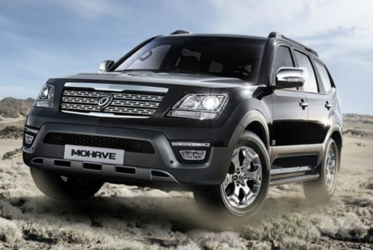 Новый кузов Kia Mohave 2018: комплектации, цена и фото