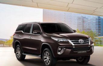 Новый кузов Toyota Fortuner 2018 комплектация, цена, фото