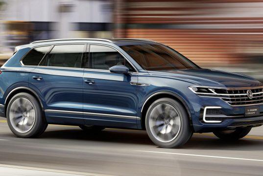 Новый кузов Volkswagen Touareg 2018 комплектация, цена, фото