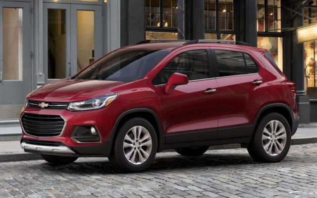 Новый кузов Chevrolet Tracker 2018 комплектации, цена и фото