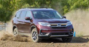Новый кузов Honda Pilot 2018 комплектации, цена и фото