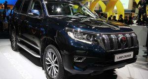 Новый кузов Land Cruiser Prado комплектации, цена и фото